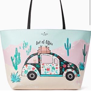 Kate Spade Out of Office Tote Purse
